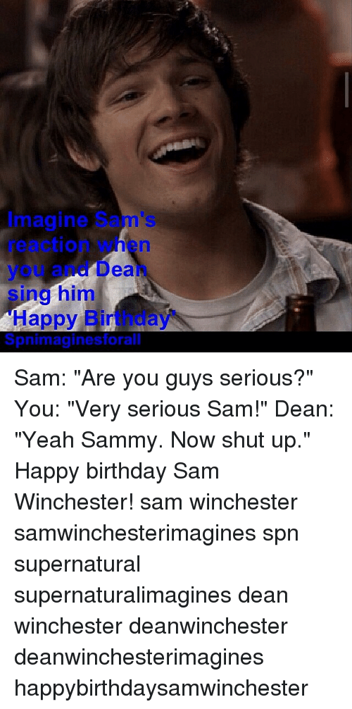 Sam And Dean Happy Birthday Meme Billedgalleri Whitmangelo Secoinfo