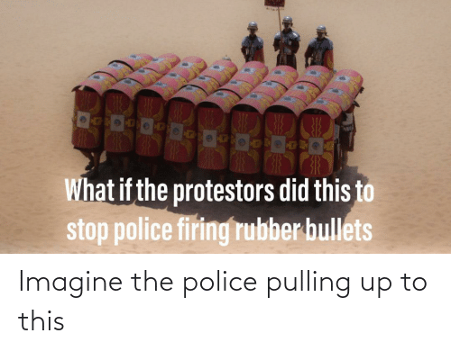 Police, The Police, and Imagine: Imagine the police pulling up to this