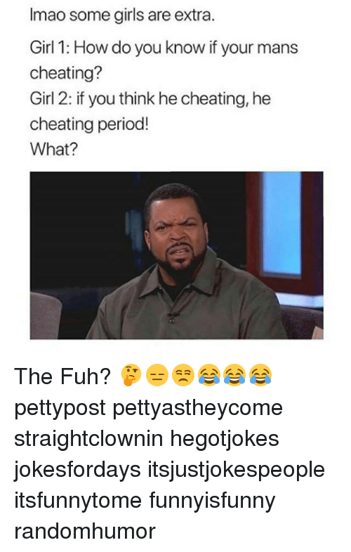 How do i know he is cheating
