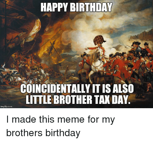 Funny Happy Birthday Meme Brother : Best memes about brother birthday