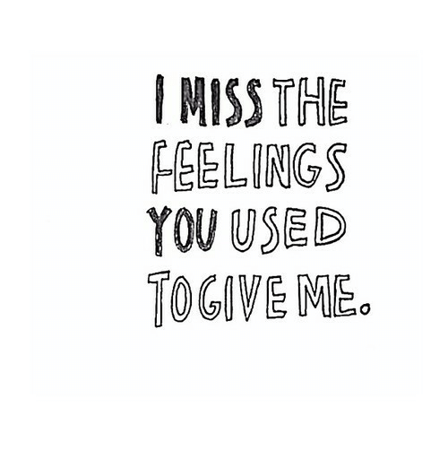 Feelings, Mme, and The: IMISS THE  FEELINGS  YOUUSED  TOGIVE MME