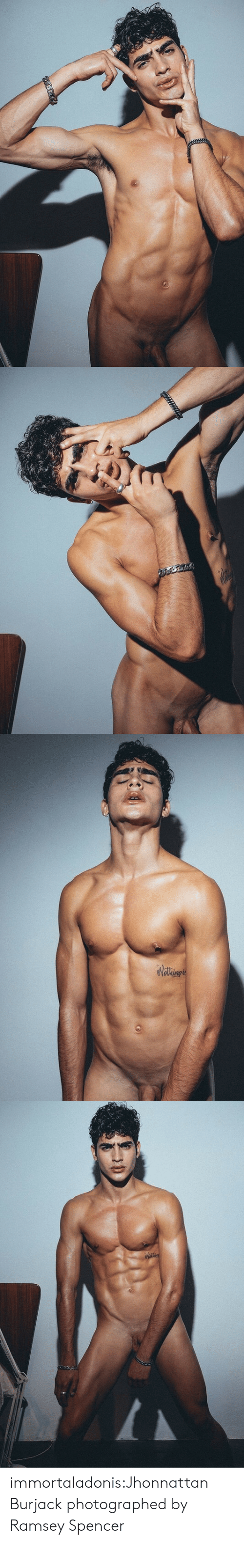 Tumblr, Blog, and Com: immortaladonis:Jhonnattan Burjack photographed by Ramsey Spencer