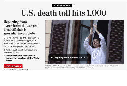 AccidentalComedy,  Placement, and Wapo: Impecable Placement WaPo