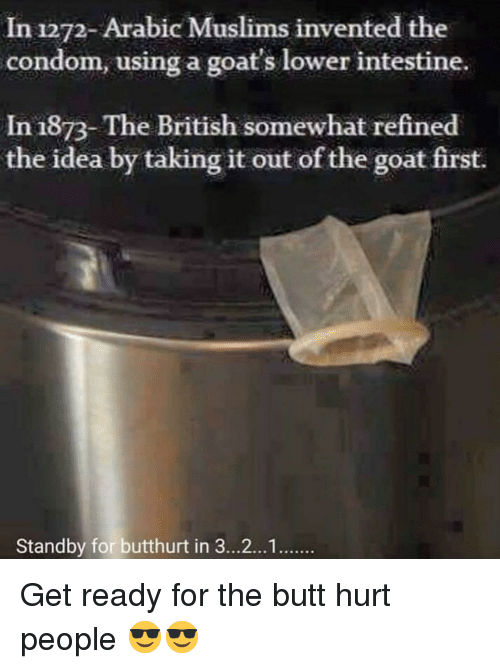 In 1272- Arabic Muslims Invented the Condom Using a Goat's