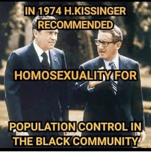Black community and homosexuality