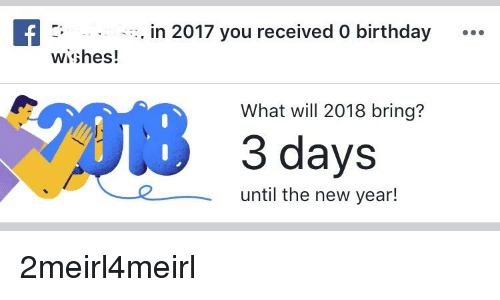 Birthday New Years And Will In 2017 You Received 0