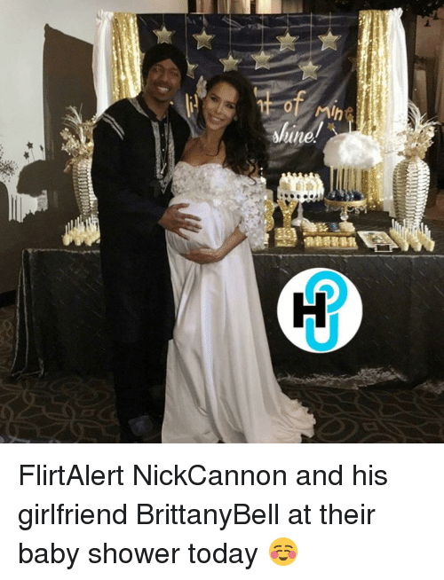 Memes, Baby Shower, And 🤖: In 541w FlirtAlert NickCannon And His  Girlfriend BrittanyBell