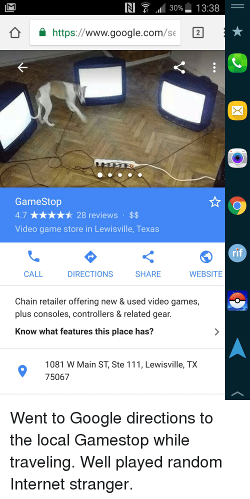 Funny Gamestop And Google In