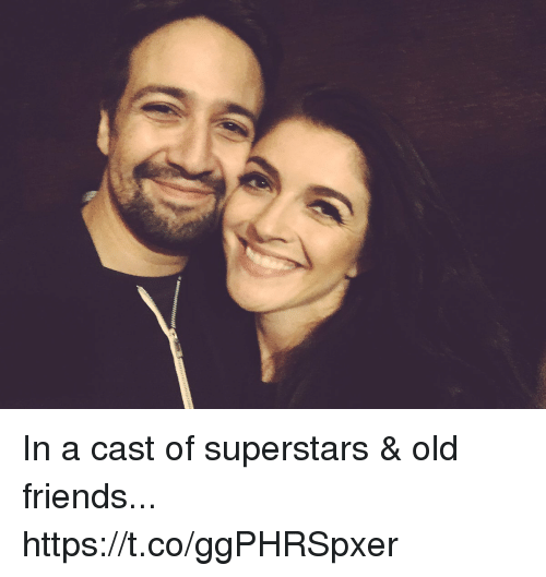 Friends, Memes, and Old: In a cast of superstars & old friends... https://t.co/ggPHRSpxer