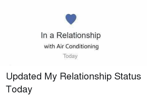 Image result for in a relationship with air conditioning