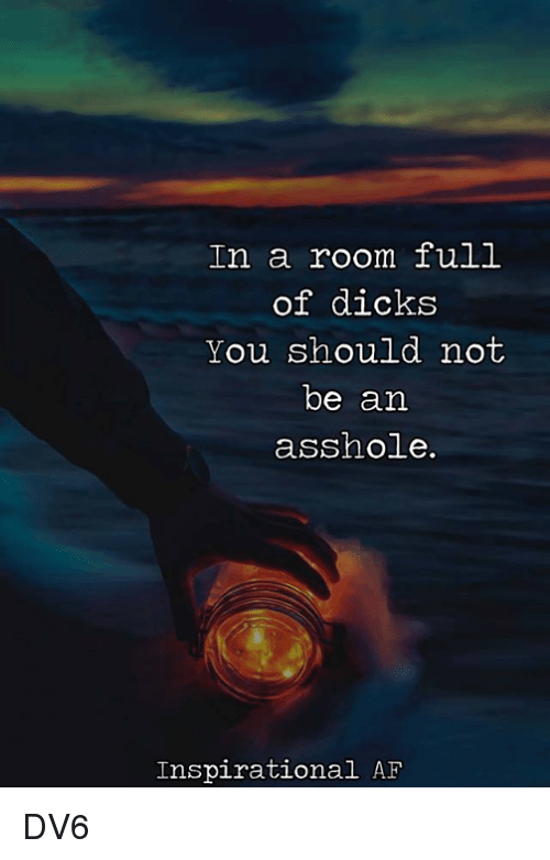 in room Asshole the