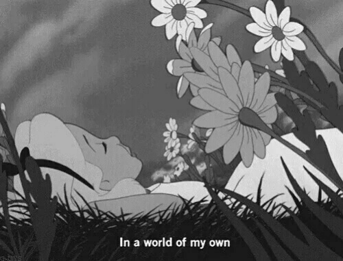 World, Own, and  in a World of My Own: In a world of my own
