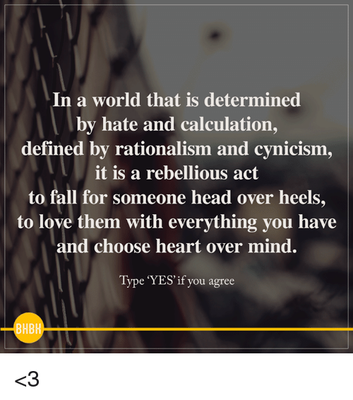 3fa0b638f90 In a World That Is Determined by Hate and Calculation Defined by ...