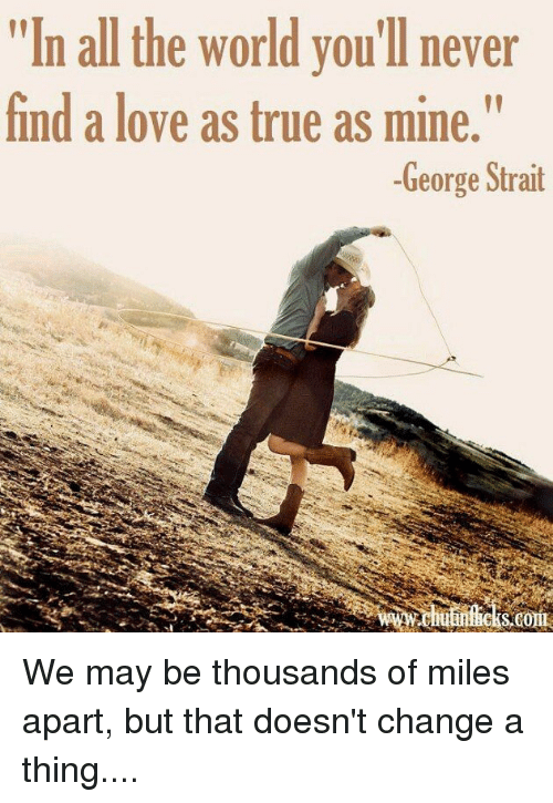 Is it possible to never find true love