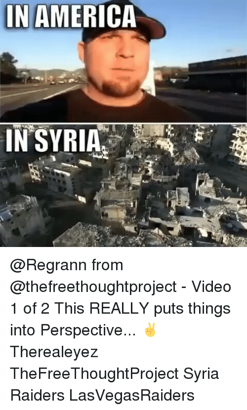 In AMERICA IN SYRIA From - Video 1 of 2 This REALLY Puts