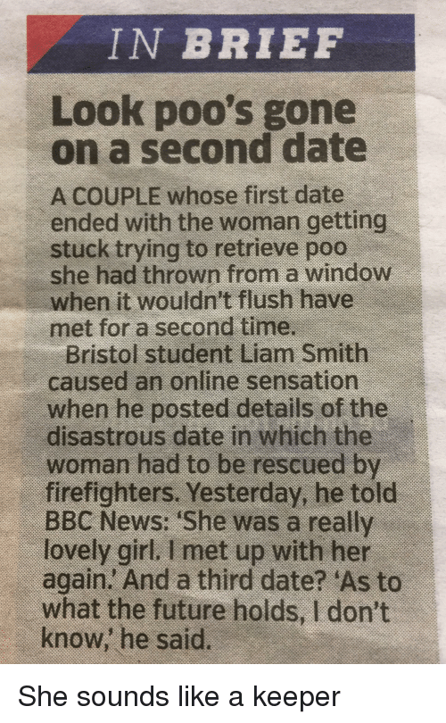 time between first and second date