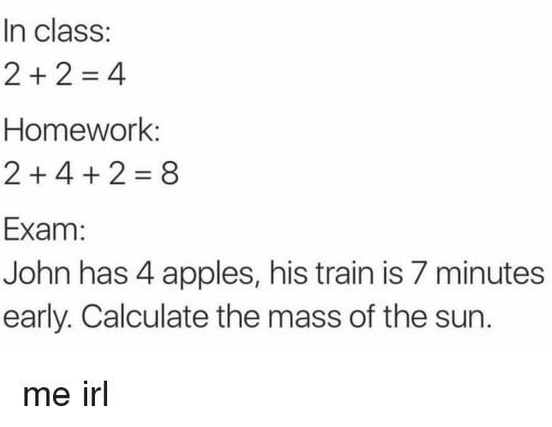 In Class Homework 2 4 2 8 Exam John Has 4 Apples His Train