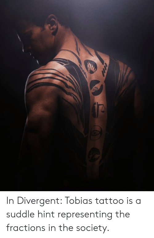 In Divergent Tobias Tattoo Is a Suddle Hint Representing the