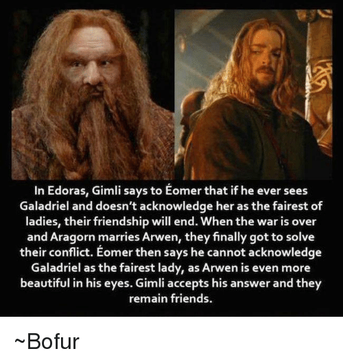 in edoras gimli says to eomer that if he ever 9754585 ✅ 25 best memes about eomer eomer memes