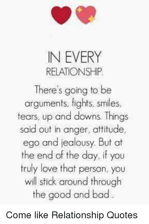 relationship quotes on attitude and ego hortson