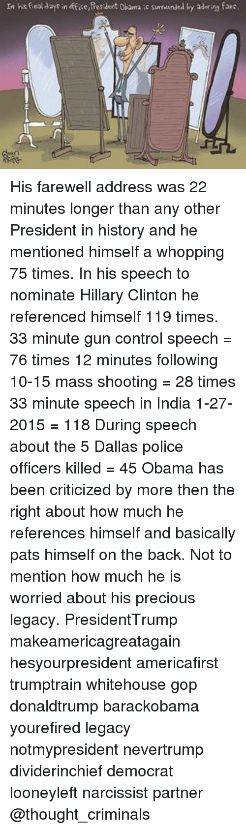 gun control speech The powerful and aggressive speech, which touched on inconvenient truths about the democrat party's history, even triggered some democrats to walk off the house floor.