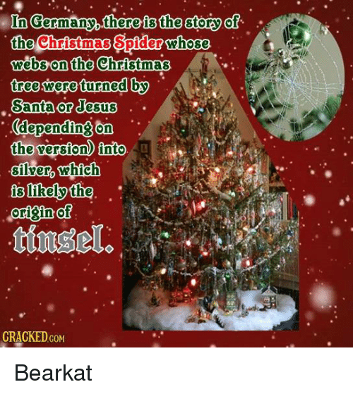memes spider and christmas tree in germany there the story the christmas spider - Origin Of Christmas Tree