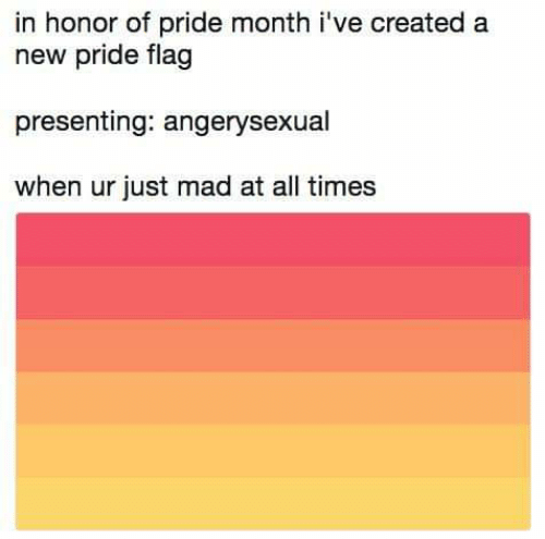 In Honor of Pride Month I've Created a New Pride Flag