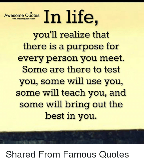 In Life Awesome Quotes Wwwawesomequotes4ucom Youll Realize That