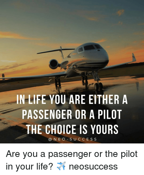 Are you a pilot