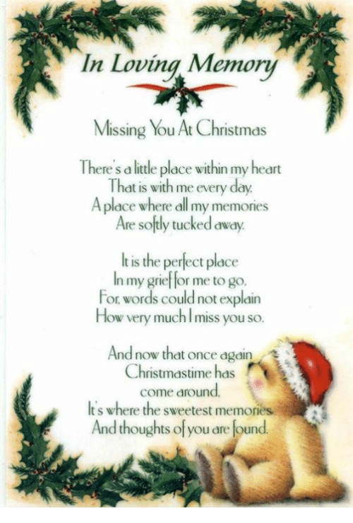 memes grief and in loving memory missing you at christmas there s
