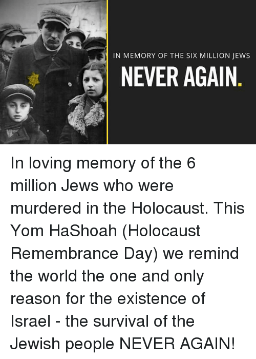 a discussion of the reasons for the jewish holocaust