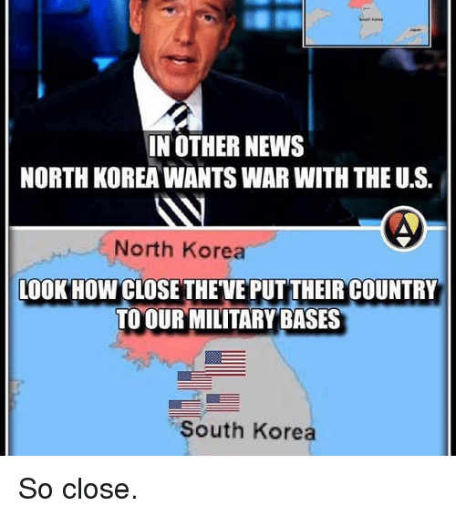 North Korea Latest News: In OTHER NEWS NORTH KOREA WANTS WAR WITH THEUS North Korea