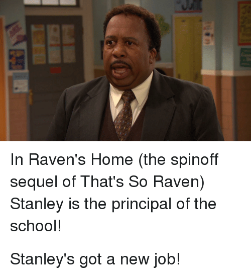In Ravens Home The Spinoff Sequel Of Thats So Raven Stanley Is The