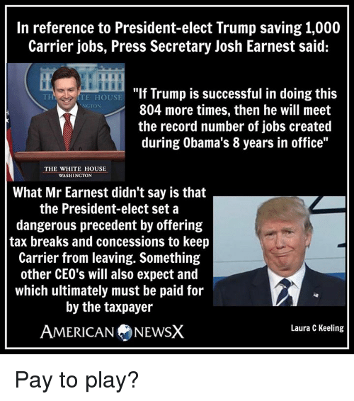 Trump Tax How Much Will I Save: 25+ Best Memes About Josh Earnest