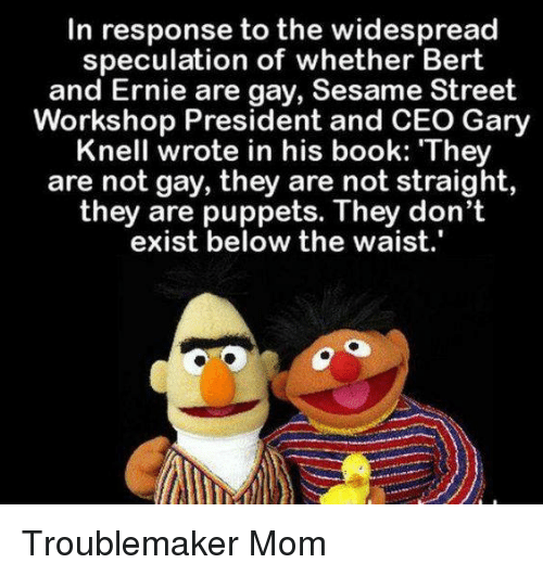 Bert and ernie sesame street gay, girl naked nude police station examination