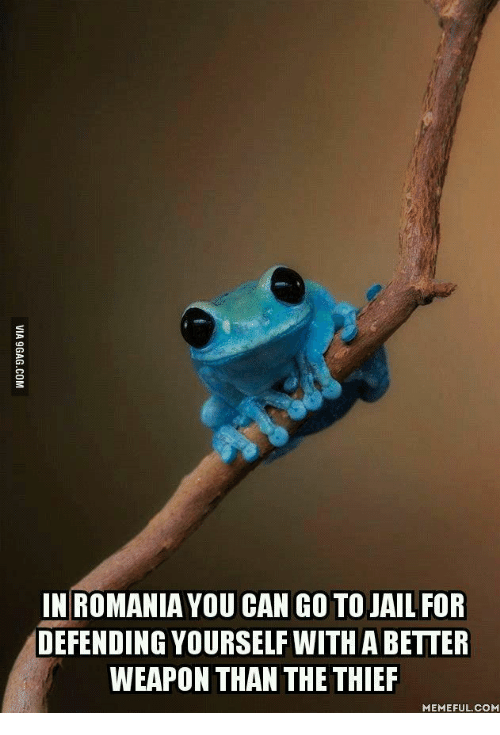 in romania you can go to jail for defending yourself 13588548 25 best thief meme memes my childhood memes, goe memes