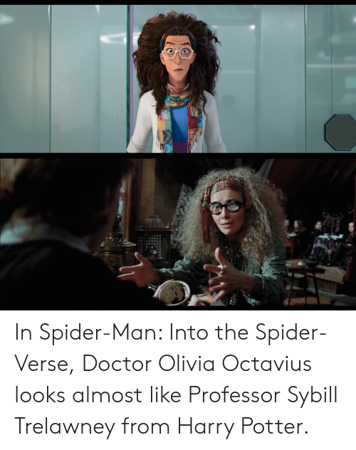 In Spider-Man Into the Spider-Verse Doctor Olivia Octavius Looks