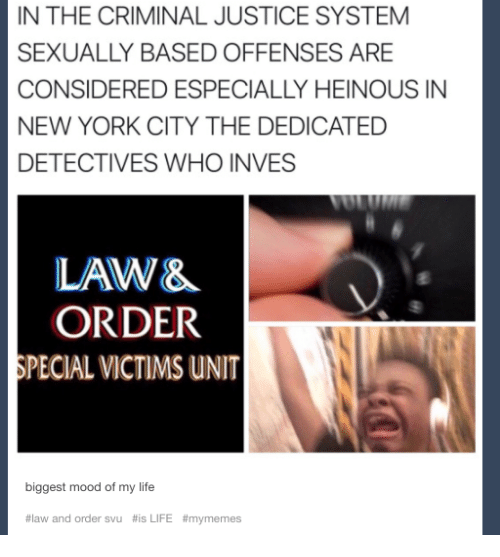 In A Criminal Justice System Sexually Based Offenses