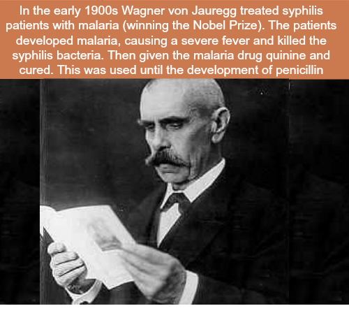 Image result for Malaria Drug Therapy Wagner-Jauregg