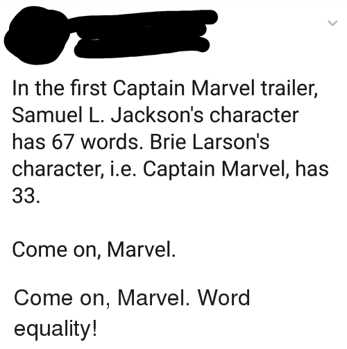 In the First Captain Marvel Trailer Samuel L Jackson's Character Has