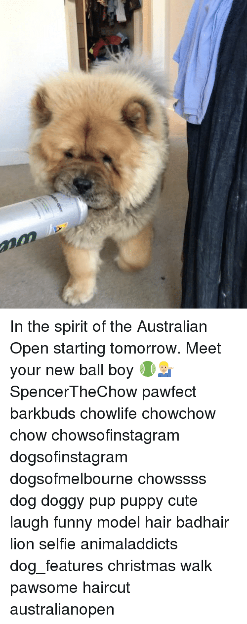In The Spirit Of The Australian Open Starting Tomorrow Meet Your New