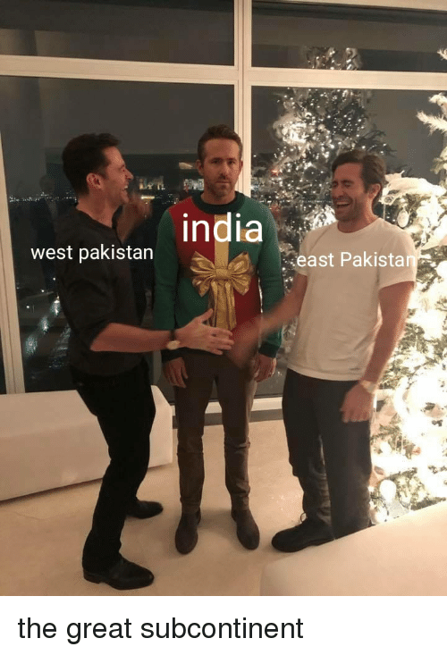 In West Pakistan East Pakistan | History Meme on ME ME