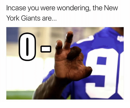 New York, New York Giants, and Giants: Incase you were wondering, the New  York Giants are.