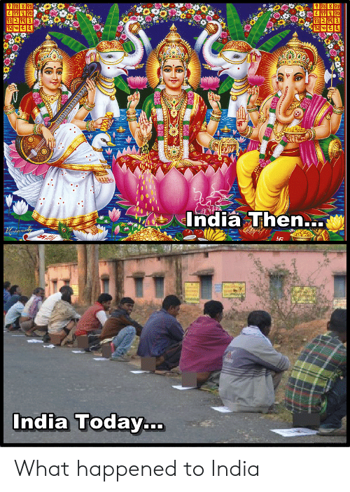 History, India, and Today: India Then  India Today... What happened to India
