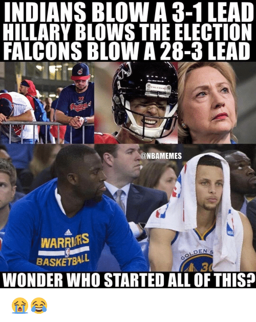 indians blow a 3 1 lead hillary blows the election falcons 13868889 indians blow a 3 1 lead hillary blows the election falcons blow a