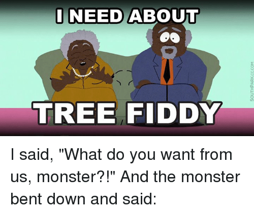Image result for tree fiddy meme no profanity