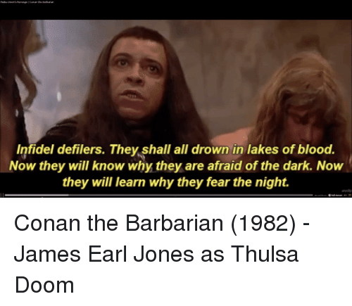 Infidel Defilers They Shall All Drown in Lakes of Blood Now They