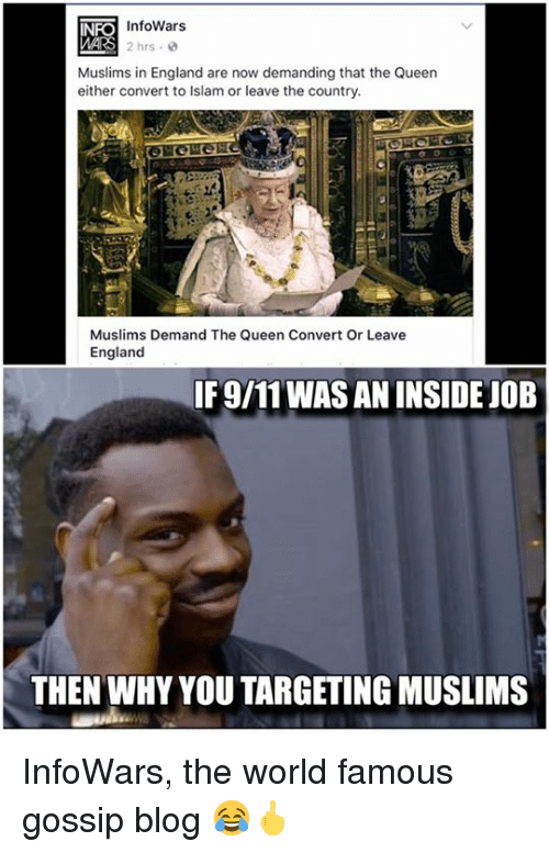 InfoWars 2 Hrs 0 Muslims in England Are Now Demanding That ...