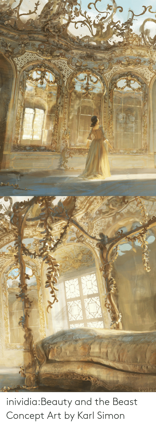 Tumblr, Beauty and the Beast, and Blog: inividia:Beauty and the Beast Concept Art by Karl Simon