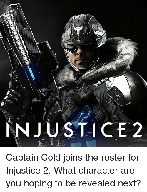 Injustice 2 Captain Cold Joins The Roster For Injustice 2 What